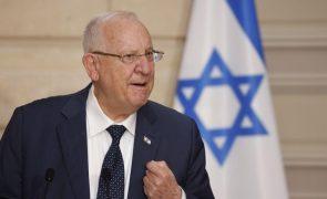Presidente de Israel apela ao voto para romper bloqueio político