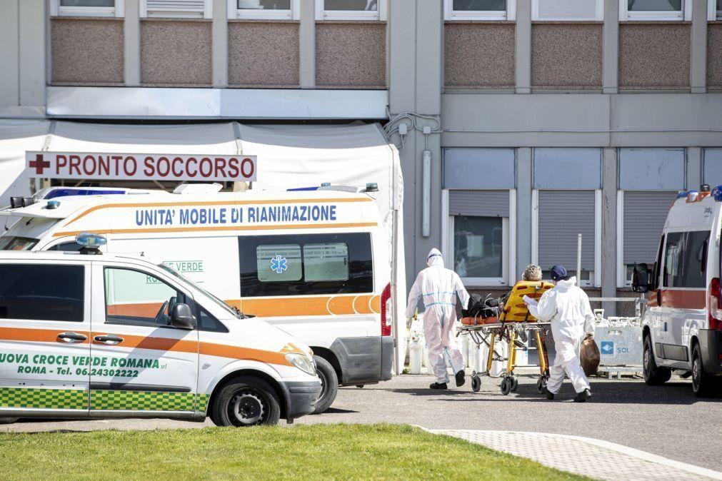 Covid-19: Itália com menos casos diários mas mais mortes
