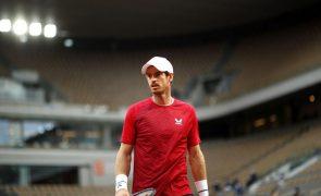 Tenista Andy Murray está lesionado e vai falhar Masters 1.000 de Miami