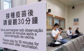 Covid-19: Mais de seis mil pessoas em Macau tomaram vacina da BioNTech que foi suspensa
