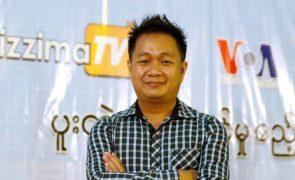 Libertado jornalista da Associated Press preso em Myanmar, em fevereiro