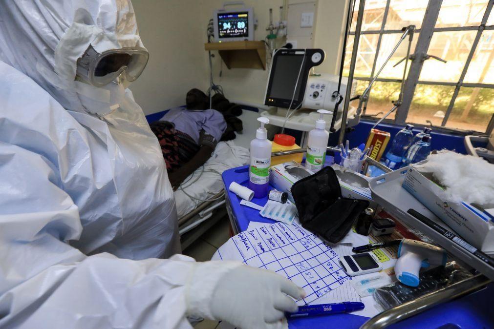 Covid-19: África com segunda vaga mais severa e subida de 30% nos casos diários
