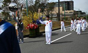 Tóquio2020: Início do percurso da chama olímpica em Fukushima