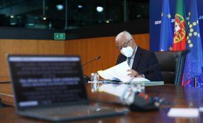 UE/Presidência: Líderes europeus iniciam cimeira por videoconferência