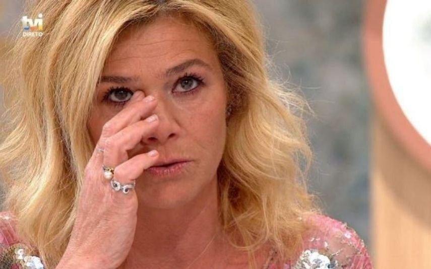 Ana Brito E Cunha Emocionada, atriz evoca morte da filha e do ator Pedro Lima