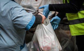 Rede de Emergência Alimentar angaria 73 mil refeições em campanha solidária