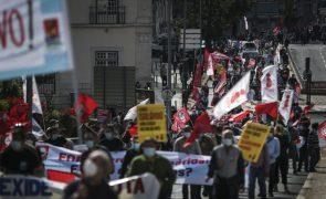 Jovens reivindicam em Lisboa estabilidade laboral e aumento dos salários