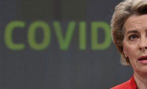 Covid-19: UE podia já ter acelerado vacinação se farmacêuticas cumprissem