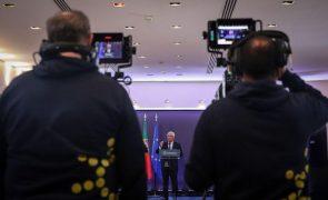 UE/Presidência: Costa salienta novo impulso na cooperação com os EUA desde as vacinas ao clima