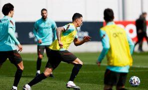 Mundial2022: Portugal realiza primeiro treino em Belgrado na véspera do jogo com a Sérvia