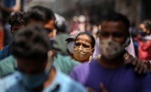 Covid-19: Índia com mais de 59 mil casos, novo máximo em cinco meses