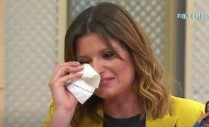 Cláudio Ramos deixa Maria Botelho Moniz em lágrimas: