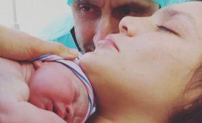 Andreia Rodrigues mostra barriga nove dias depois de ser mãe