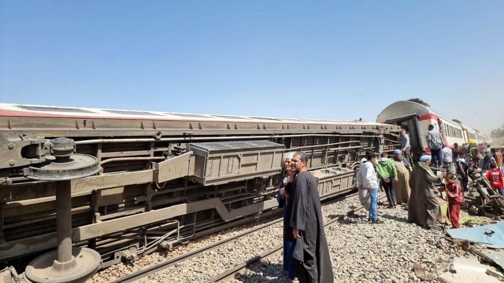 Ministra da Saúde egípcia anuncia número mais baixo de mortos em choque de comboios