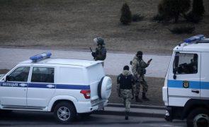 Mais de 100 pessoas detidas em dia de protesto na Bielorrússia