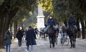 Covid-19: Mais 23.839 casos e 380 mortos em Itália