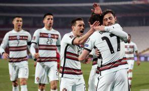 Mundial2022: Portugal vence Sérvia por 2-0 ao intervalo, com 'bis' de Diogo Jota