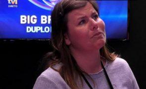 Big Brother Noélia desaba em lágrimas ao fazer balanço do programa