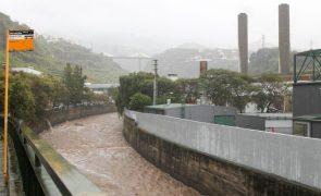 Chuva e trovoada colocam Madeira em aviso laranja até às 12:00