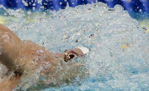 Nadador Francisco Santos bate recorde nacional dos 200 metros costas