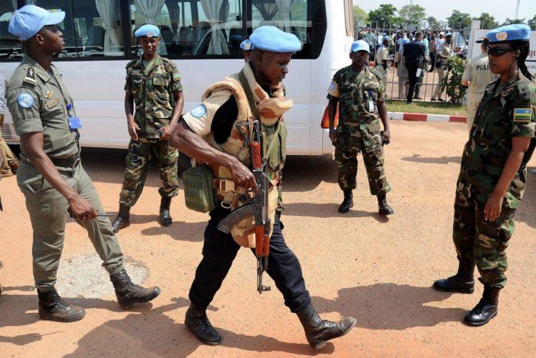 Dois capacetes azuis marroquinos mortos em ataque a missão da ONU na República Centro Africana