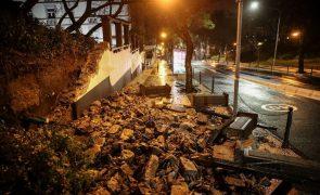Funchal com cinco estradas encerradas e semáforos danificados devido ao mau tempo