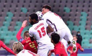 Portugal vence Inglaterra no Europeu de sub-21 e está perto dos 'quartos'