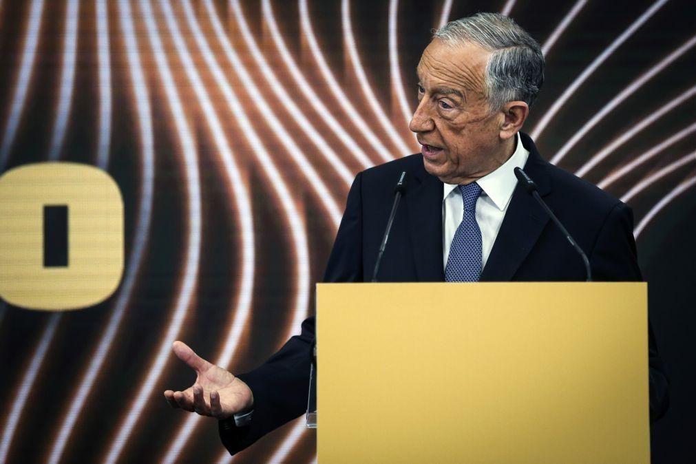 Marcelo defende que Portugal foi grande quando a inovação venceu a inércia