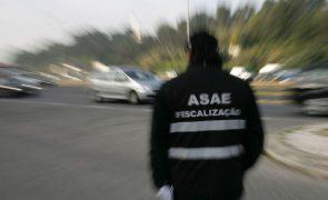 Penafiel. ASAE suspende grossista e apreende 25 toneladas de produtos sem normal cumpridas