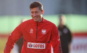 Mundial2022: Paulo Sousa perde Lewandowski para jogo da Polónia em Inglaterra