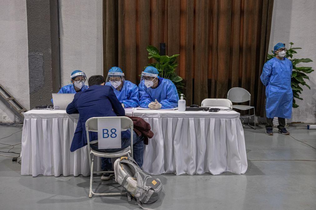 Covid-19: China soma oito casos nas últimas 24 horas, todos oriundos do exterior