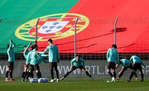 Mundial2022: Portugal fecha jornada tripla de qualificação no Luxemburgo