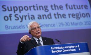 Cabe aos sírios decidir o futuro do seu país, defende Borrell