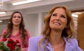 Cristina Ferreira em lágrimas na estreia de novo programa na TVI [vídeo]