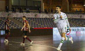 Tomás Paçó e Silvestre estreiam-se nos convocados da seleção portuguesa de futsal