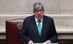 Presidente da Assembleia da República evoca 200 anos da abolição da Inquisição