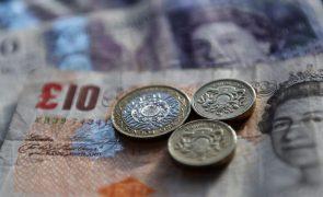 PIB do Reino Unido contrai-se 9,8% em 2020, menos do que o estimado