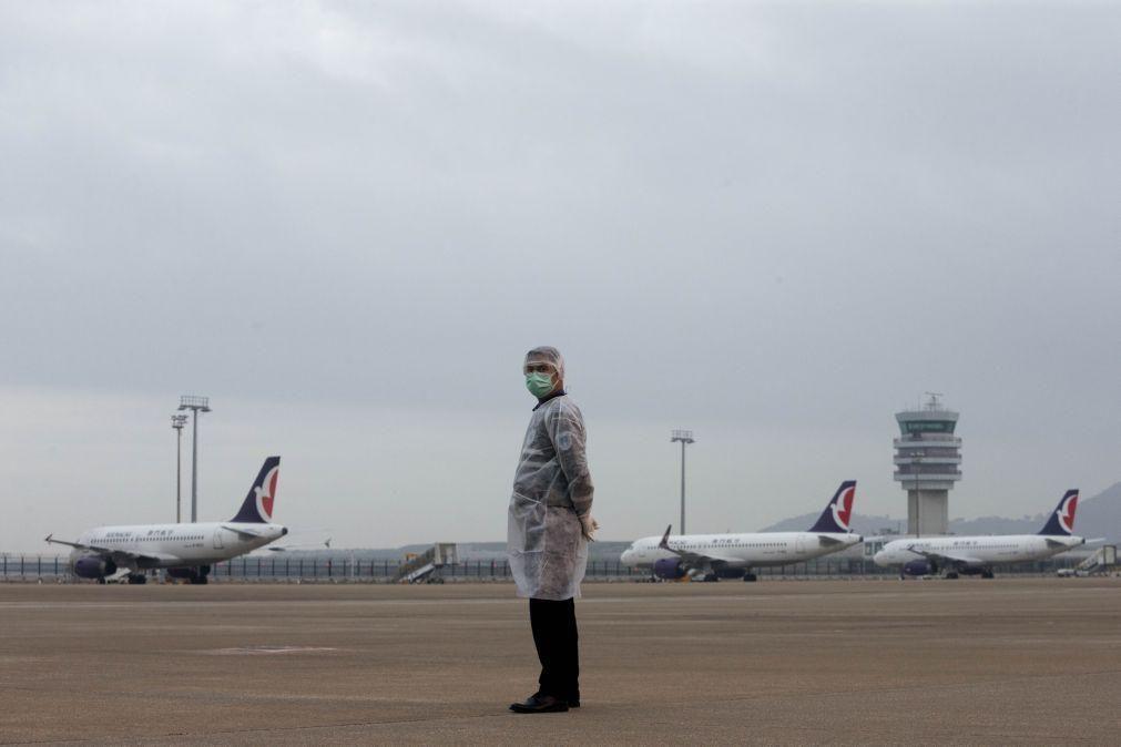 Companhia do Aeroporto Internacional de Macau anuncia prejuízos em 2020