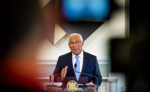 Primeiro-ministro faz hoje às 18:30 comunicação ao país sobre apoios sociais