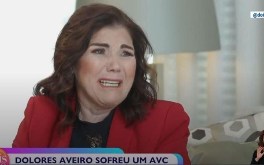 Dolores Aveiro em lágrimas recorda AVC:
