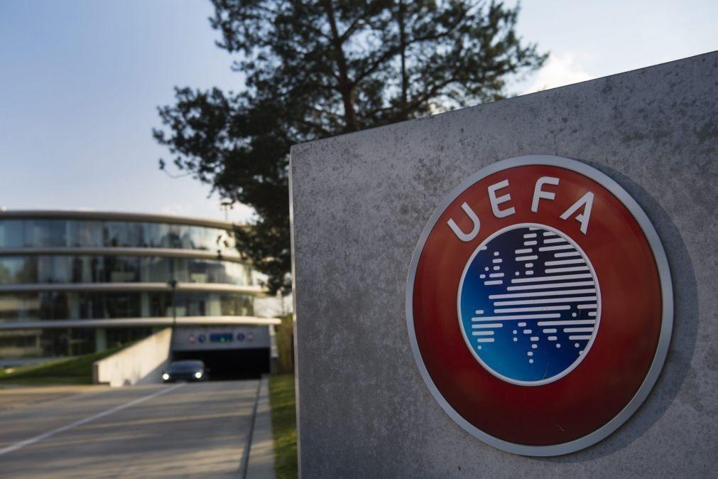 UEFA vai permitir cinco substituições no Euro 2020 e na Liga das Nações