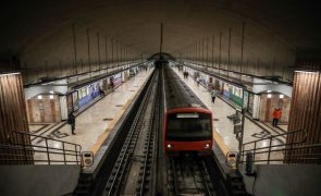 Circulação nas linhas Amarela e Verde do Metro de Lisboa retomada após acidente