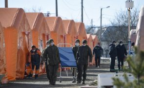 Covid-19: Ucrânia regista recorde de 400 mortes em 24 horas