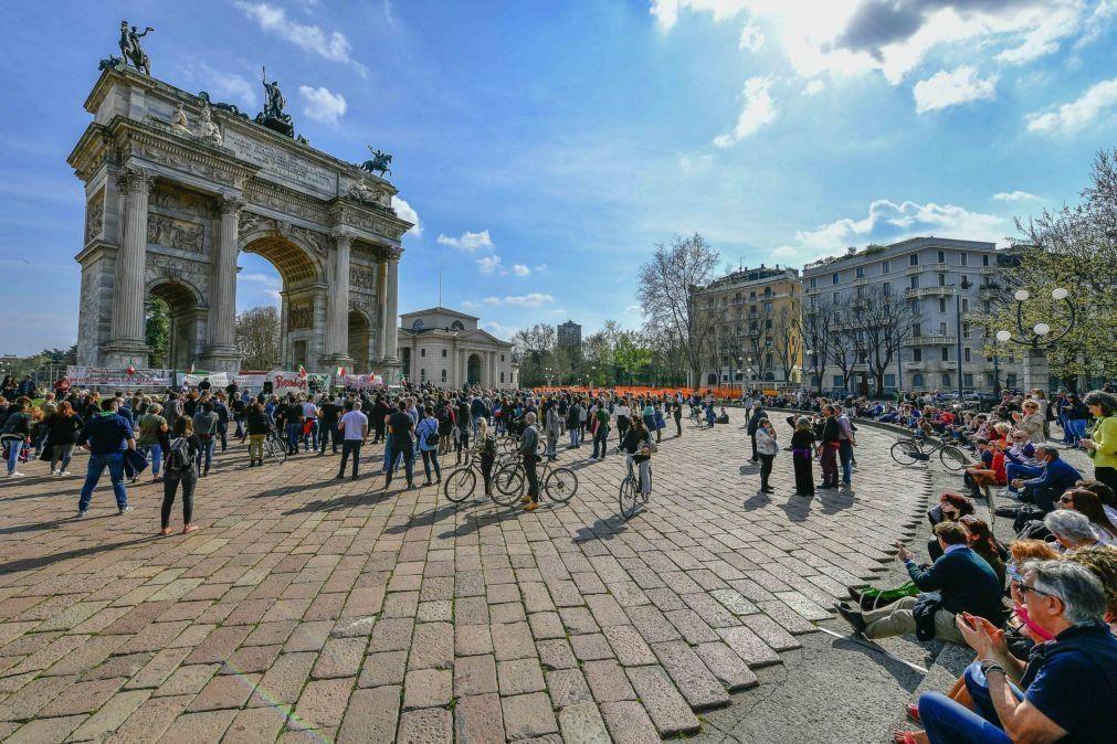 Covid-19: Novos casos em Itália disparam com quase mais 8 mil nas últimas 24 horas