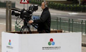 Associação organiza manifestação pela liberdade de imprensa frente à Teledifusão de Macau