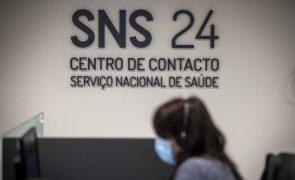 Covid-19: SNS24 atendeu mais do dobro de chamadas face a 2020