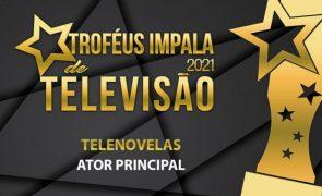 Troféus Impala de Televisão 2021: Nomeações na categoria de Melhor Ator Principal