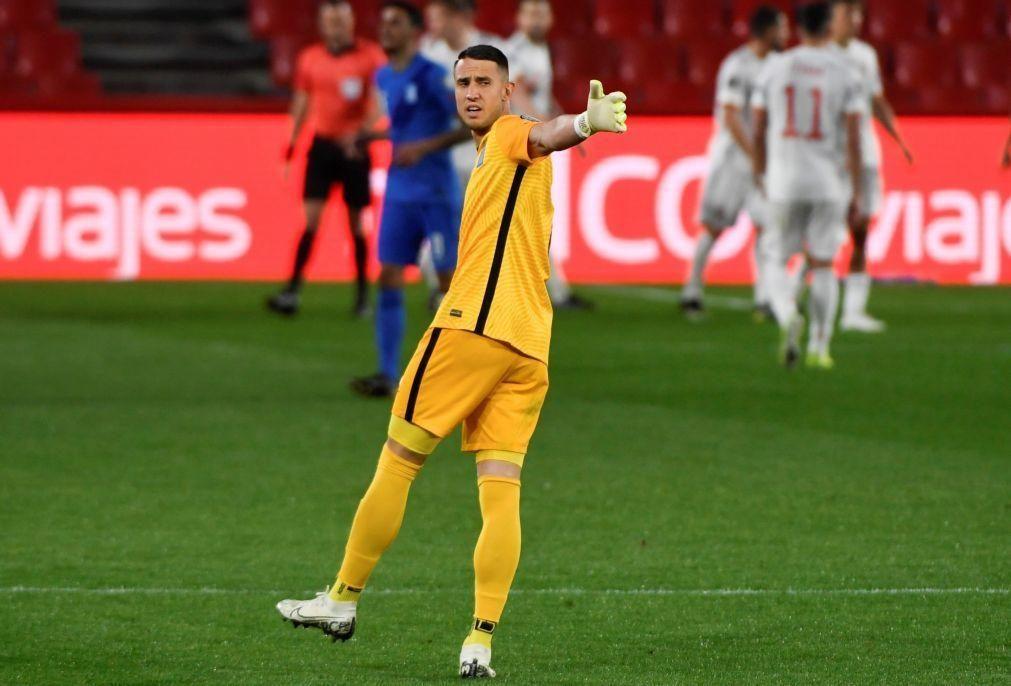 Vlachodimos diz que está na altura de sair do Benfica