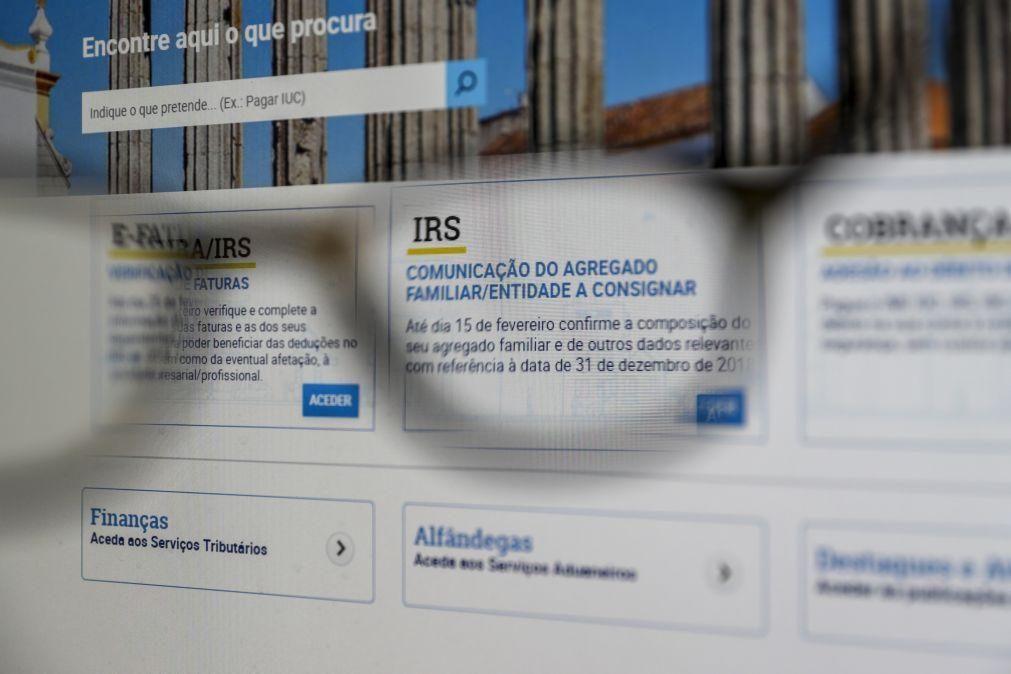 Mais de 250 mil declarações de IRS já foram submetidas no Portal das Finanças