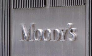 Covid-19: Moody's melhora perspetiva da banca portuguesa de negativa para estável